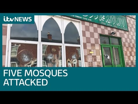 Five mosques attacked with sledgehammers in Birmingham   ITV News