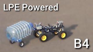 Lego technic pneumatic engine. Second way of using