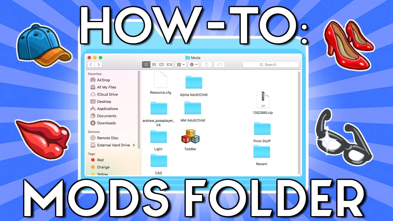 HOW TO ORGANIZE YOUR MODS FOLDER // THE SIMS 4