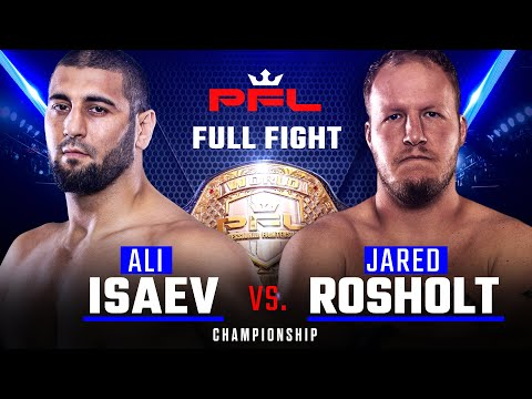 PFL 2019 Final: Али Исаев - Джаред Рошолт /  Ali Isaev vs. Jared Rosholt