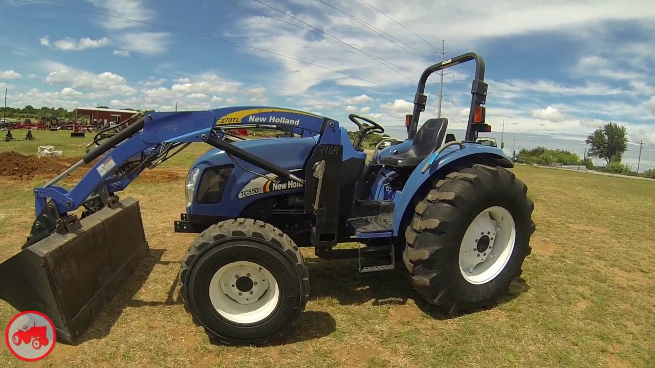 New Holland Compact Utility Tractor : New holland tc da ehss compact utility tractor for sale