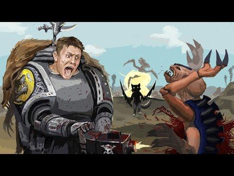 Warhammer BRO: 05 Сергей Денисов о бэке Космических Волков