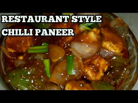 Chilli Paneer-How To Make Chilli Paneer Dry And Gravy-Indo-Chinese Starter-in Hindi