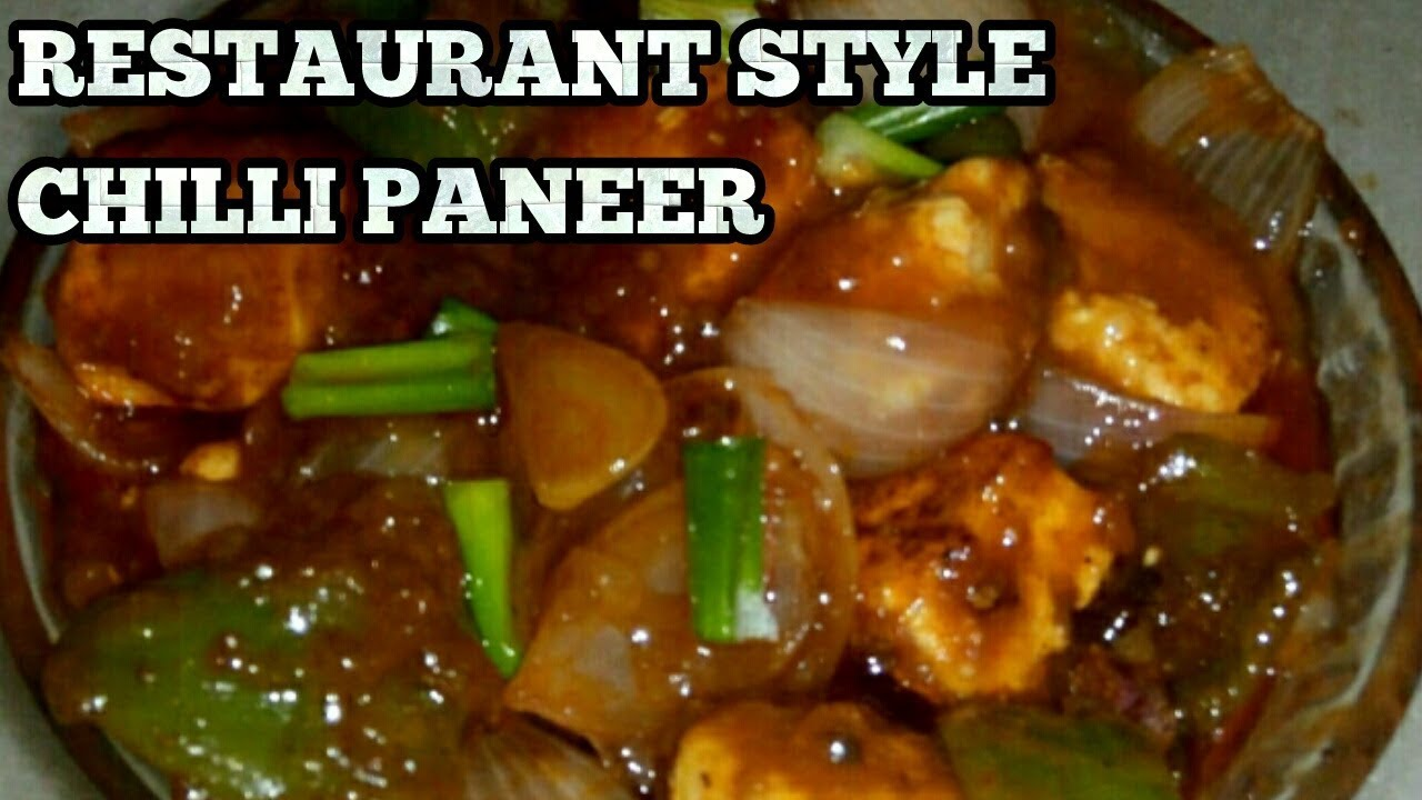 Chilli Paneer How To Make Chilli Paneer Dry And Gravy Indo Chinese