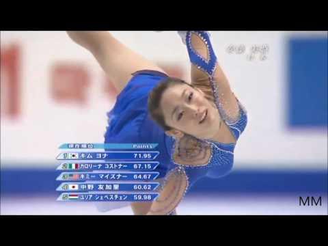 安藤美姫(Miki Ando) 2007 World Championships SP