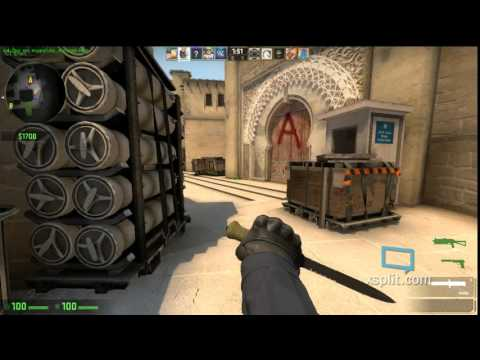 CSGO Gameplay loss to HACKERS !&#%