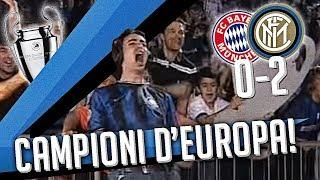 L'INTER VINCE LA CHAMPIONS LEAGUE (BAYERN MONACO INTER 0-2)