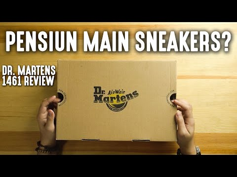 GUA PENSIUN MAIN SNEAKERS? | Dr. Martens 1461 Review
