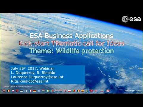 Wildlife Protection Kick-start Activities - Webinar 25 July 2017