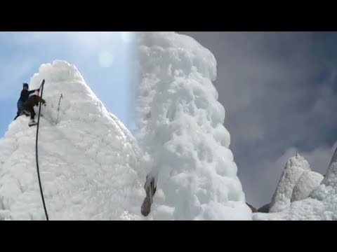 Ladakh : Artificial Ice Stupas are the newest tourist attraction, Watch | Oneindia News