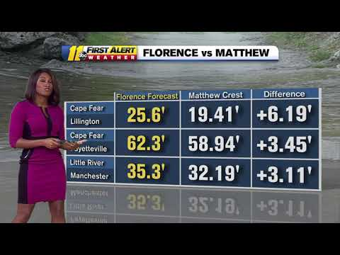 Florence flooding: The latest on Tropical Depression Florence with Brittany Bell