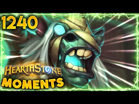 These MISPLAYS Will HAUNT YOU In Your Dreams  Hearthstone Daily Moments Ep1240