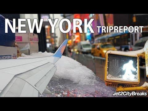 NEW YORK TRIP REPORT   Jet2 Boeing 757-23A   NCL-EWR