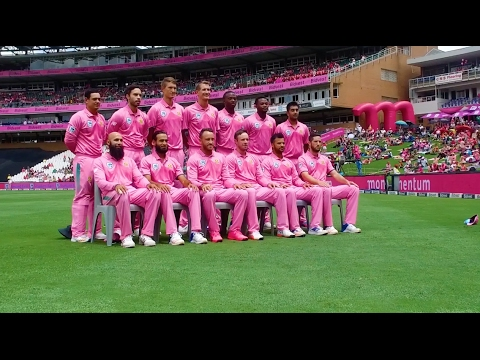 SL Tour Diaries: Eps 8 Bidvest Wanderers is Pink.
