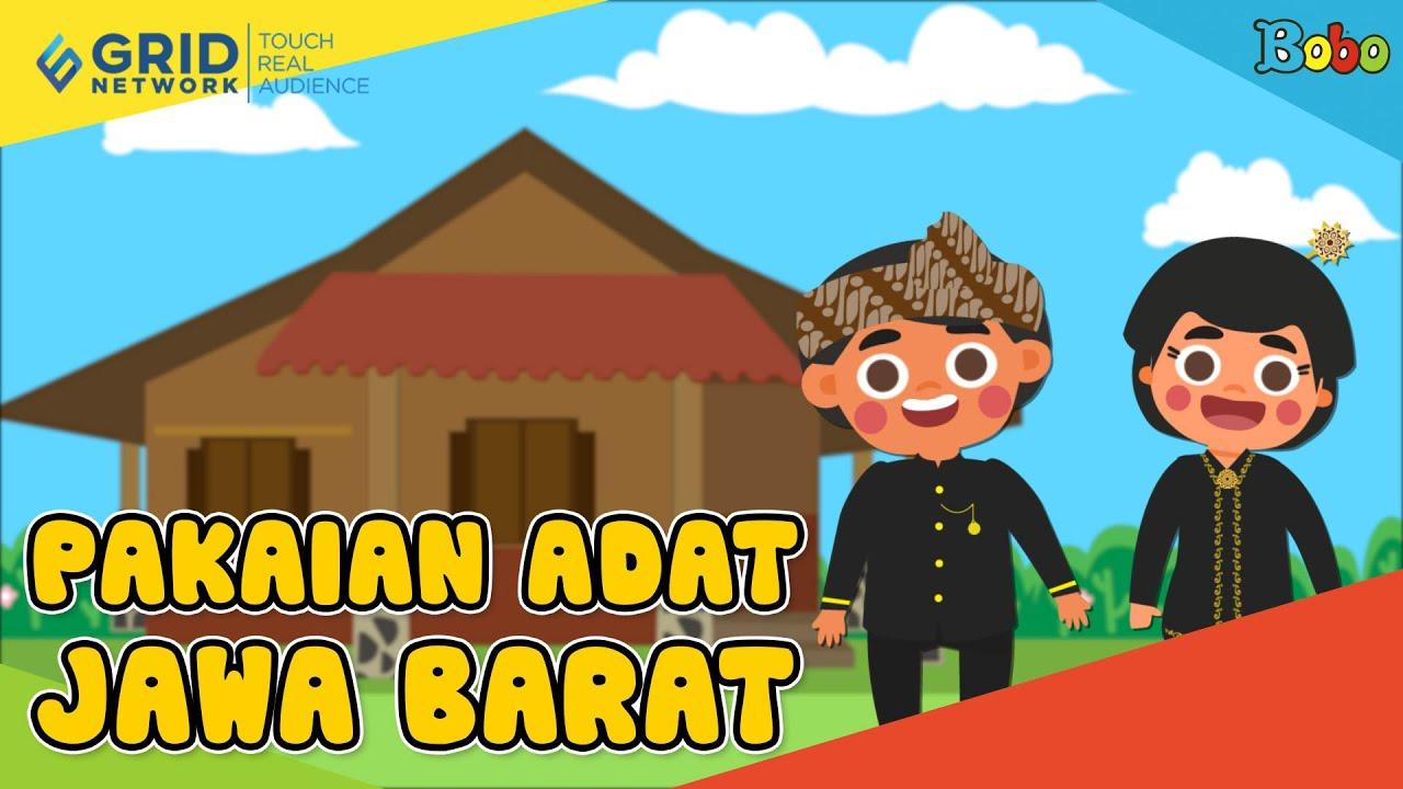 seri budaya indonesia pakaian adat dari provinsi jawa barat saksikan di video ini bobo seri budaya indonesia pakaian adat