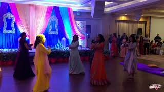 Gal Mitthi Mitthi Bol | Wedding Choreography | #Siddtasha | Groom's Mom & Friends | Dance & Tonic