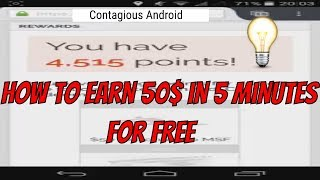 How to earn 10$ in 5-10 minutes on android for free (make money online)