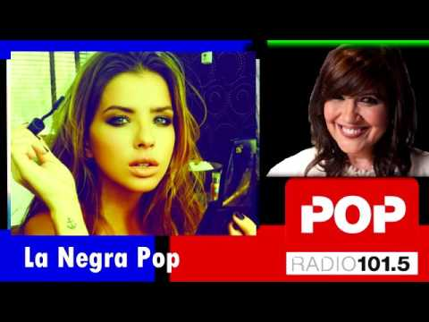 """La China Suárez en """"La negra Pop"""""""