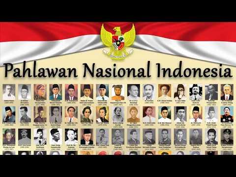 Daftar Pahlawan Nasional Indonesia Beserta Fotonya - Lagu Gugur Bunga