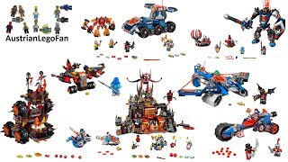 All Lego Nexo Knights Season 2 sets - Lego Speed Build Review