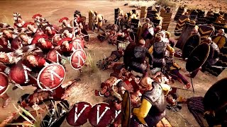 300 Spartans vs 3000 Persians Rome 2 Total War