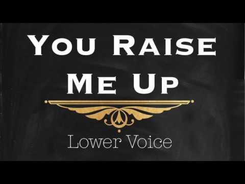 Josh Groban - You Raise Me Up (Lower Key) Piano Instrumental Track