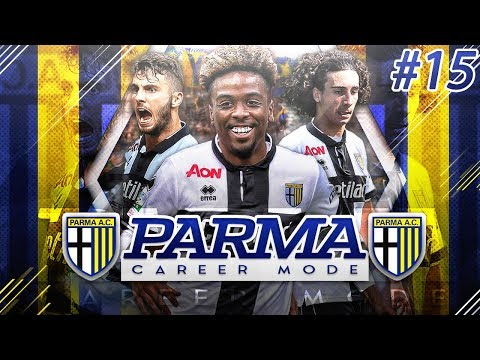 FIFA 18 Road To Glory Career Mode #15 -  PARMA vs 2ND PLACE BARI! STRIKERS ON FIRE!