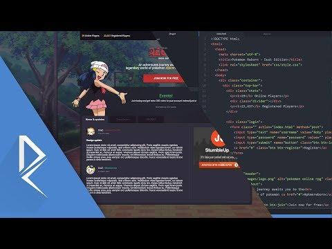 Web design speed code - Landing page [Atom, CSS, HTML]