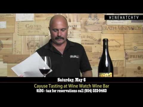 Cayuse Tasting at Wine Watch Wine Bar - click image for video