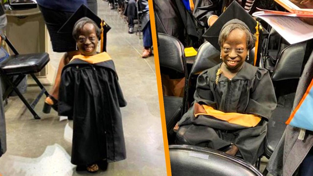 Woman Given 3 Days to Live at Birth Graduates College