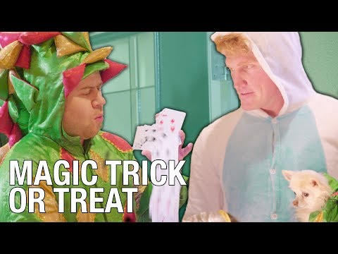 Giving Tricks Instead Of Treats – Halloween