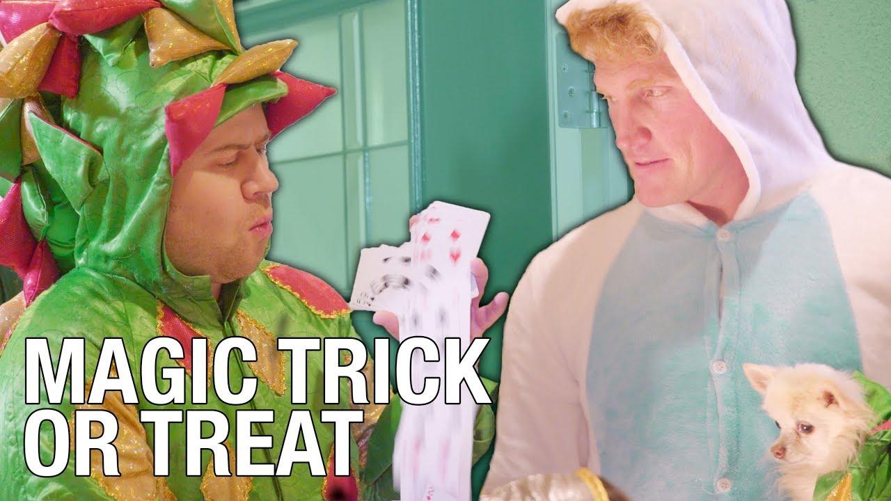 Giving Tricks Instead Of Treats - Halloween