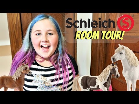 NEW SCHLEICH ROOM TOUR!