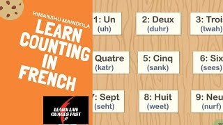 Learn French counting  from 21-50