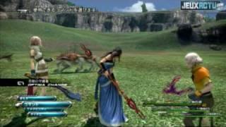 Test du jeu Final fantasy XIII (PS3) par le site jeuxActu.com