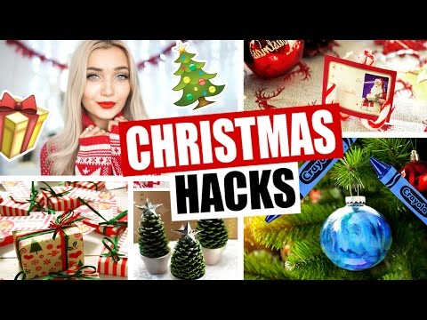 DIY Christmas LIFE HACKS You NEED To Know!