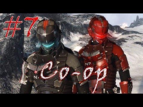 Смотреть прохождение игры [Coop] Dead Space 3. Серия 7 - Снежная тварь.
