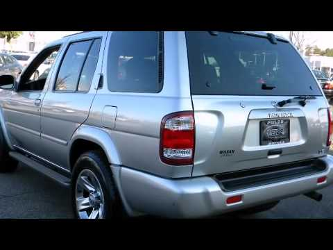 2004 Nissan Pathfinder Le Platinum Edition Youtube