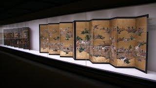 出光美術館 「江戸名所図屏風」と都市の華やぎ