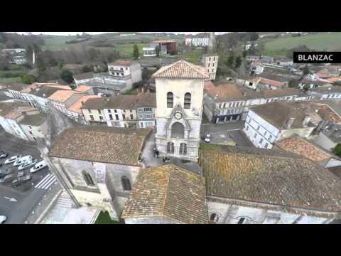 """Le Clocher"" - L'église St Arthémy - Blanzac-Porcheresse"