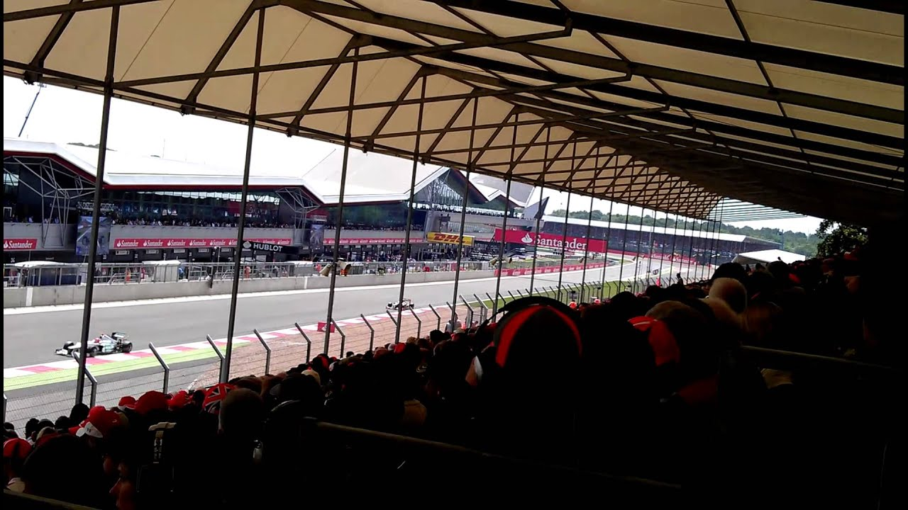 My view from Abbey Corner, Silverstone.July 8 2012 - YouTube