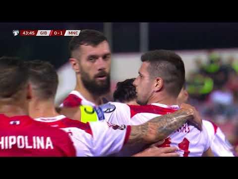 Gibraltar Montenegro Goals And Highlights