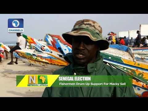 Senegal Election: Fishermen Drum Up Support For Macky Sall |Network Africa|