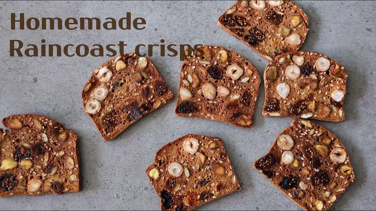 Sub) 한번 손대면 멈출수 없는 홈메이드 레인코스트 크리스프 : Homemade Raincoast crisps recipe │Brechel