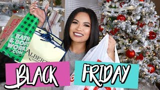 WHAT I GOT MY FAMILY FOR CHRISTMAS | BLACK FRIDAY HAUL | Belinda Selene