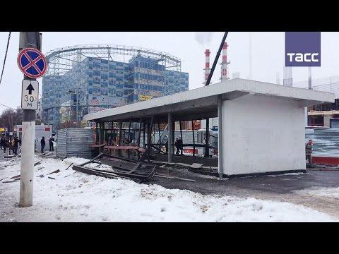 В Москве у метро Коломенская произошел взрыв, шесть человек пострадали