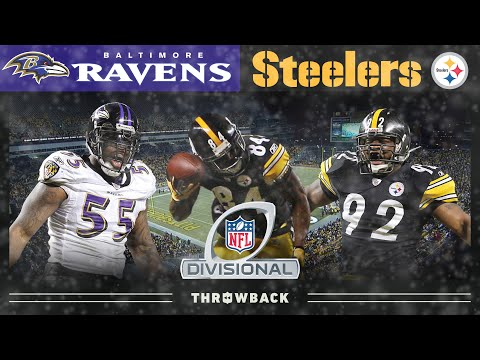 A Star is Born During An Epic Rivalry! (Ravens vs. Steelers, 2010 AFC DIV) | NFL Vault Highlights