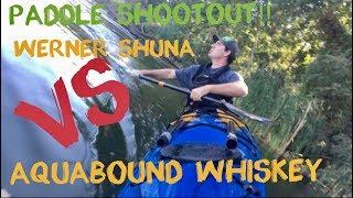 High Angler Paddle Shoot Out: Werner Shuna vs Aquabound Whiskey