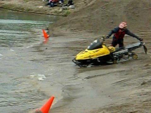 snowmobile water drag Aylmer Quebec