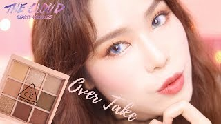 3CE MOOD RECIPE OVER TAKE PALETTE MAKEUP LOOK TUTORIAL  MONO PINK AND MELLOW FLOWER